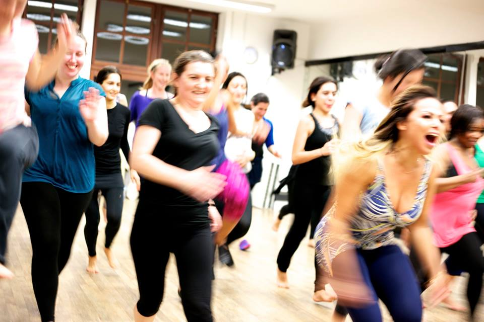 ladies dance workout classes london